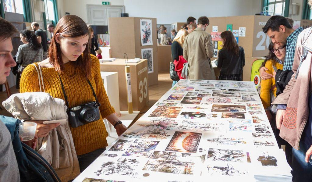Foto der Design Festival Ausstellung