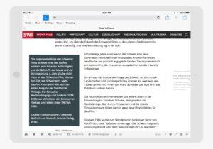 User Experience Optimierung für SWI
