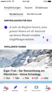 Wayfarer App Design