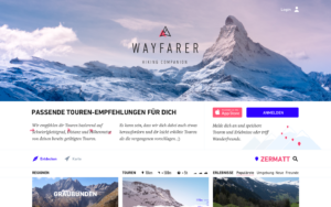 Wayfarer Marketing Webseite