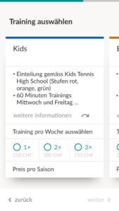 Enrol - Mobile UI